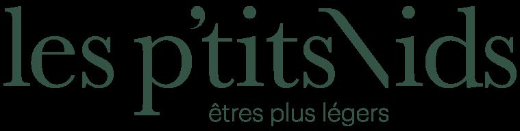 Les P'tits Nids - Logo police vert - PNG